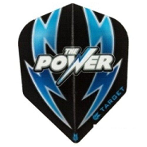 Target Power – 100 Micron, Flights Phil Taylor, colore: nero/blu Target Power - 100 Micron