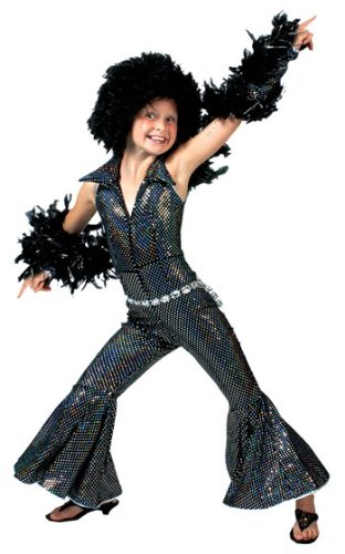 Boogie Girl Child Large (Boogie Man Costume)