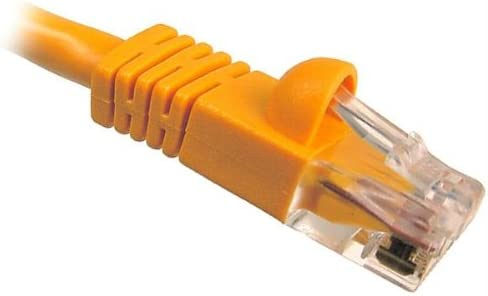 Cables Unlimited UTP-1400-50O Cat5e Snagless Patch Cable 50 feet, Orange