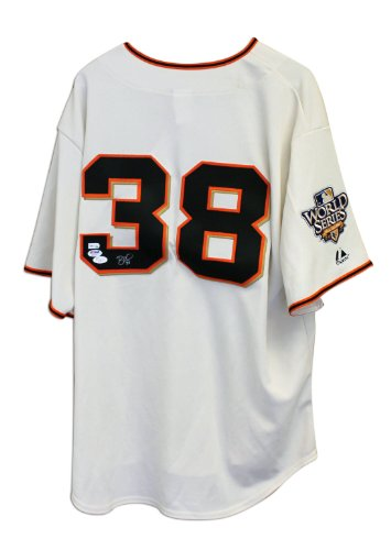Brian Wilson San Francisco Giants Autographed White Majestic Jersey -APE COA