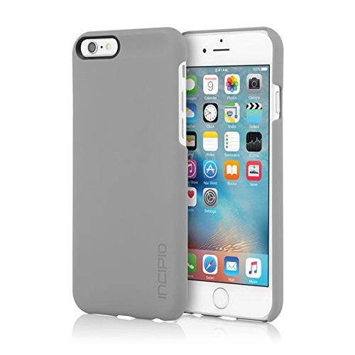iPhone 6S Case, Incipio feather Case [Lightweight][Shock Absorbing] Cover fits both Apple iPhone 6, iPhone 6S - - Grey Case
