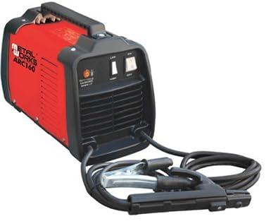 METALWORKS soldador electrodos ARC-160 100-150 A para Ø2 y Ø 3.25 mm: Amazon.es: Industria, empresas y ciencia