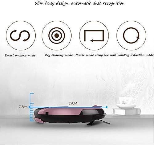 Robot De Nettoyage Intelligent, Intelligent Balayeuse À Domicile, Ultra-mince Intelligent, Essuyage, Balayage, Aspiration D\'un Seul Tenant Telecomando intelligente