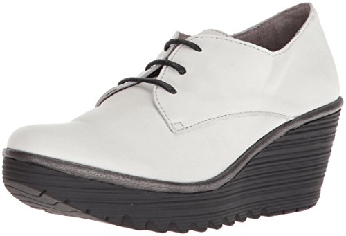 Fly London Vrouwen Yaua699fly Oxford 002 Off Wht Brito