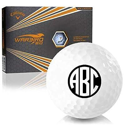 Callaway Golf Warbird 2.0 Monogram Personalized Golf Balls