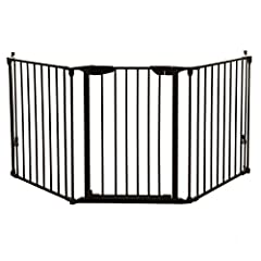 The Dreambaby Newport Adapta-Gate combines safety and convenience in one fantastic package. Hardware mounted for stability, it incorporates three hinged panels that can accommodate straight, angled, wide, and/or irregular openings and landing...