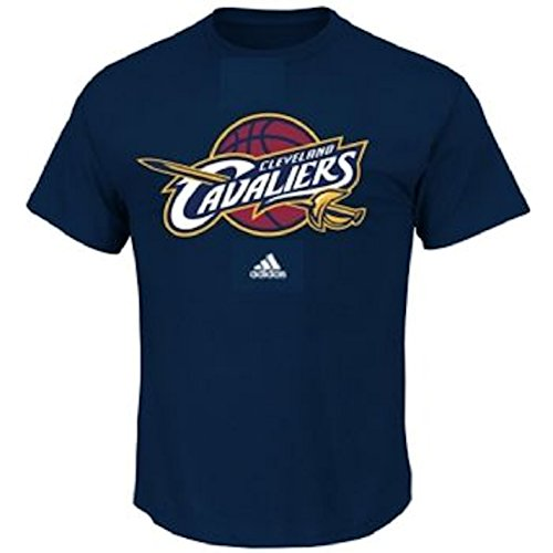 adidas Cleveland Cavaliers Navy Primary Logo Short Sleeve T-shirt - Logo Primary T-shirt New