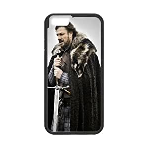 Game Of Thrones Eddard Stark iPhone 6 4.7 Inch Cell Phone Case Black DIY GIFT pp001_8039656