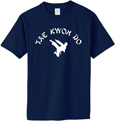 TAE KWON DO T-Shirt~Navy Blue~Adult-MD