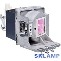 Sklamp Replacement Lamp Bulb with Housing 5J.JCV05.001 For BENQ MX723 Projectors
