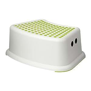 IKEA taburete para niños Försiktig blanco/verde: Amazon.es: Bebé