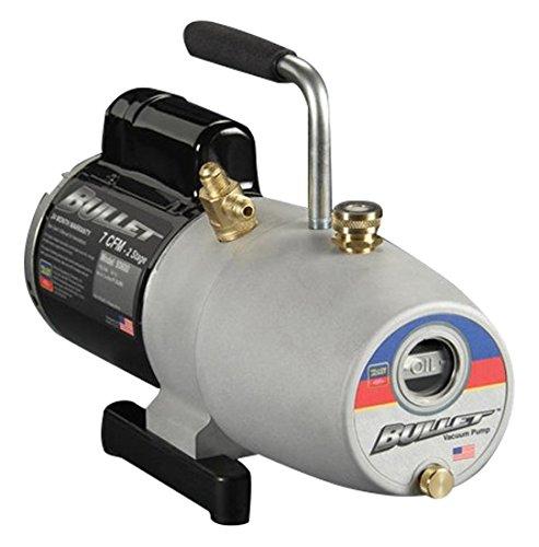 - YELLOW JACKET 93603 Bullet Single Phase Vacuum Pump, 3 Cfm, 115V, 60 Hz