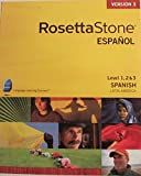 Rosetta Stone Espanol Level 1 & 2 Spanish Latin America (Version 3)