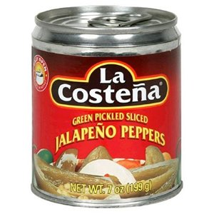 La Costena Pepper Jalapeno Sliced
