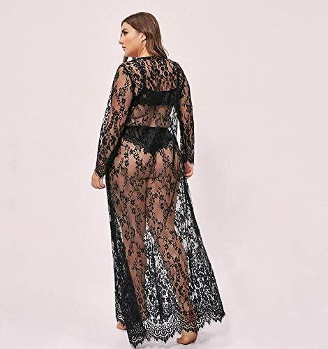 WSJS Ropa Interior Sexy para Las Mujeres gordas Noche Vestido de ...