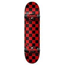 "The Epic Sports Checker Complete Skateboard 7.5"" Skateboards"