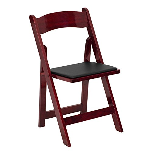 Price comparison product image A Line Furniture Helicon Mahogany Wood Folding Chairs 1
