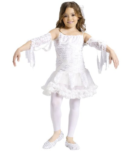 Child Cute Mummy Tutu Costume Medium 8-10 (Girls Tutu Mummy Costumes)