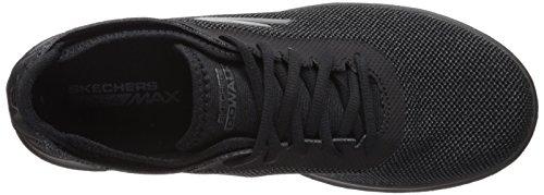 Skechers Womens Go Walk Lite-15360 Sneaker Nera