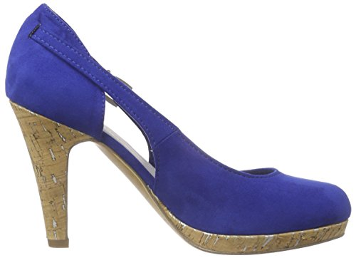 Marco Tozzi 22442 - Tacones Mujer Azul - Blau (ROYAL 838)