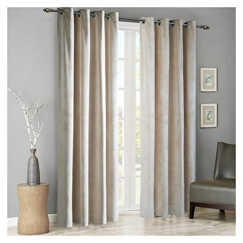 Top 10 velvet ivory curtains set of 2