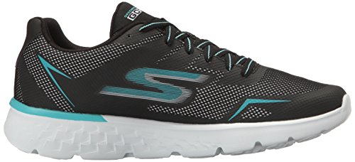 Skechers Performance Womens Go Run 400 Ostruire Il Nero / Aqua