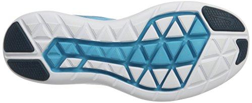 Nike Flex 2017 Rn, Zapatos para Correr para Hombre Multicolor (Legion Blue/black/chlorine Blue)