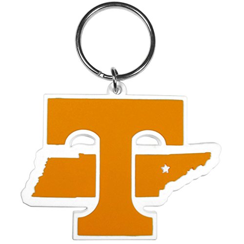 Tennessee Volunteers Ncaa Key Ring - Siskiyou NCAA Tennessee Volunteers Home State Flexi Key Chain