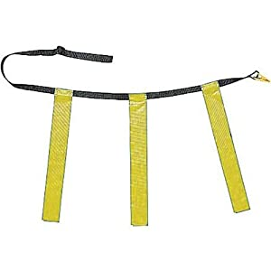 Champion Sports Triple Flag Football Set, Yellow, Size 40/50, Pack of 12