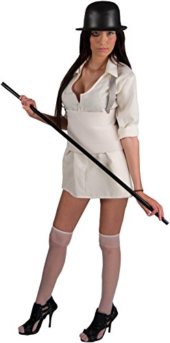Women's Clockwork Orange Droog Deluxe Adult (Droog Clockwork Orange Costume)