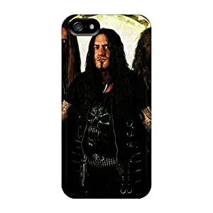 AnnaDubois Iphone 5/5s Excellent Hard Cell-phone Case Allow Personal Design Attractive Destruction Band Pictures [KBy5768MGTJ]