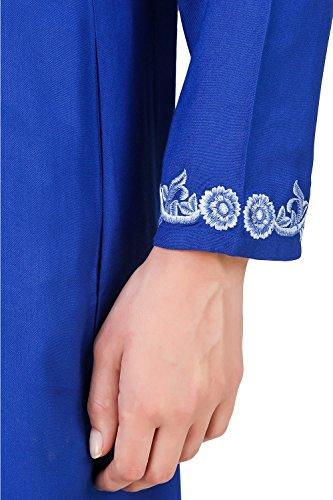 Abaya amp; MyBatua tragen Maxikleid Gelegenheit 602 Burqa blau AY Muslim weiß ZOqUwTqH