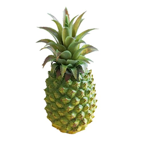 XINFU Funny Christmas Pineapple Fruit Simulation Big Fake Pineapple Props Home Kitchen Wedding Party Garden Decor Photography Decorative by XINFU