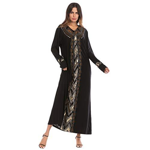 Muslim Dress Dubai Kaftan Women Long Sleeve Long Dress Abaya Islamic Clothing Girls Arabic Caftan Jalabiya Kaftan