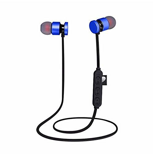 Teepao Auriculares Bluetooth con Ranura para Tarjeta SD TF, cancelación de Ruido estéreo, Bluetooth 4.2, Auriculares...