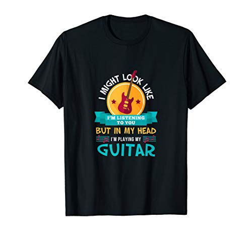 Funny Im Playing My Guitar Lover Gift Guitarist Accessories T-Shirt