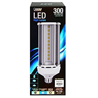 4000 Lumen 5000K Non-Dimmable LED Yard Light (Bulb only, Yard Light 2 Pack)