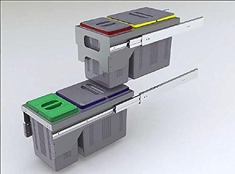 HIgh Cube - sistema estraibile pattumiere per raccolta differenziata ...