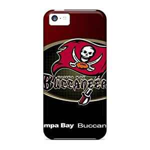 Iphone 5c Aae17100LOJO Allow Personal Design Colorful Tampa Bay Buccaneers Image Protective Phone Covers -DannyLCHEUNG
