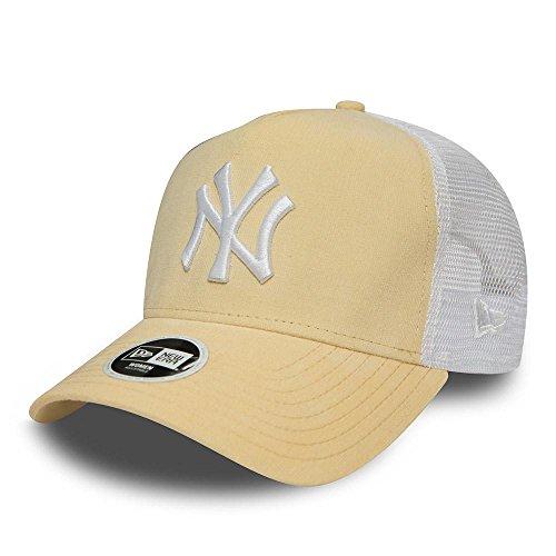 改革フィードオンに賛成ニューエラ (New Era) 女子 メッシュキャップ キャップ - MICRO CORD ニューヨーク?ヤンキース (New York Yankees) イエロー