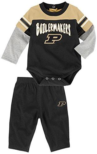 """NCAA Infant """"Halfback"""" Long sleeve Onesie & Pant Set"""
