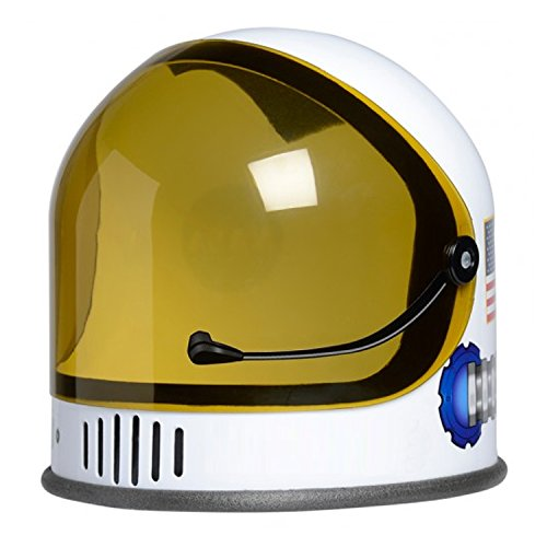 Trendy Apparel Shop Youth Junior NASA Astronaut Costume Plastic Helmet - White -