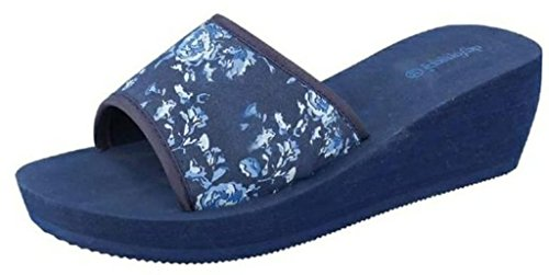 Tongs de Bleu Bleu 37 Femme pour fonseca EU R55wUq48