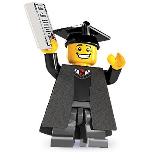 Lego 5 Mini Figure Graduate