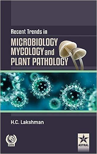 Recent Trends In Microbilogy Mycology And Plant Pathlogy por H.c. Lakshman Gratis