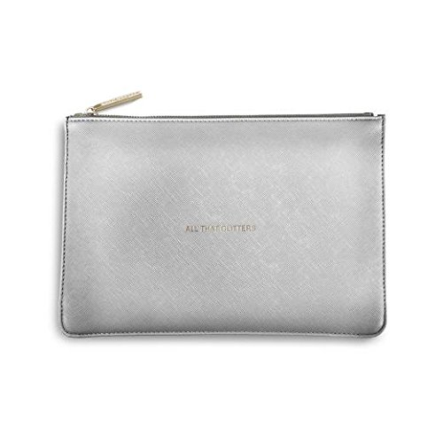 Katie Loxton - The Perfect Pouch - Metallic Silver (Pouch Silver)