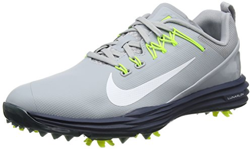official photos 168ee 03bd4 Nike Lunar Command 2 Golf Shoes 2017 Wolf Gray White Thunder Blue Volt