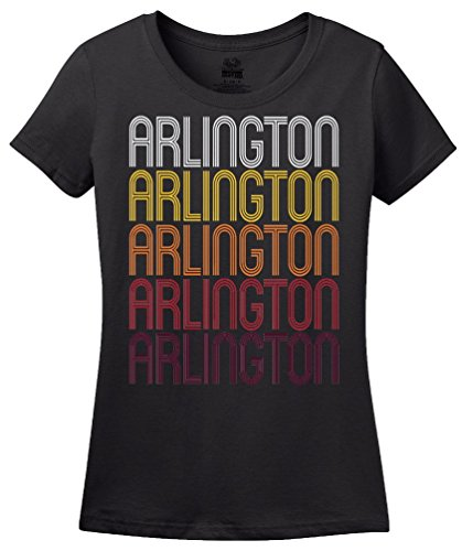 Arlington, VA | Retro, Vintage Style Virginia Pride T-shirt