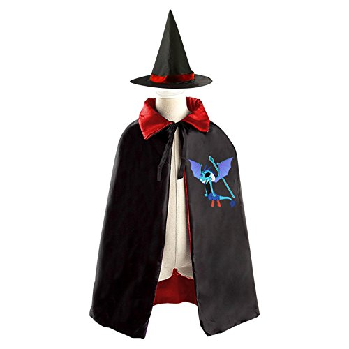 Toothless dragon Kid Halloween Cloak Vampire Cape Witch Hat (Hiccup And Astrid Halloween Costume)