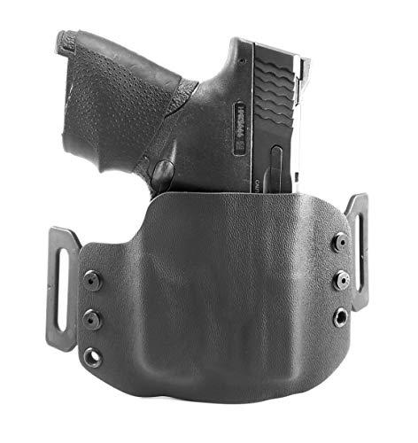 Tru-Fit Tactical OWB Kydex Gun Holster (Black) for Streamlight TLR-6